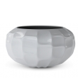 Fiberglass Modern Pot ball Shiny