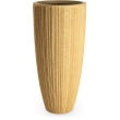 Fiberglass Nature Pot conus Light Wood