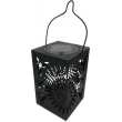 Solar Batteries Lamp Shadow play Angels Metallic Lantern
