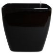 Self-watering pot square rounded